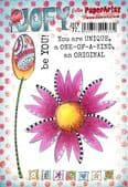 PaperArtsy Mounted Rubber Stamp Set JOFY Collection 72 - JOFY72