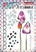PaperArtsy Mounted Rubber Stamp Set -  JOFY Collection 92 - JOFY92