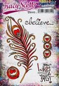 PaperArtsy Mounted Rubber Stamp Set - Tracy Scott 05