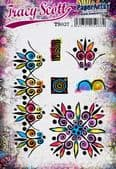 PaperArtsy Mounted Rubber Stamp Set - Tracy Scott 37