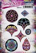 PaperArtsy Mounted Rubber Stamp Set - Tracy Scott 44