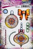 PaperArtsy Mounted Rubber Stamp Set - Tracy Scott 49
