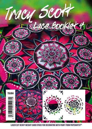 Paperartsy Tracy Scott - Lace Booklet Number 4