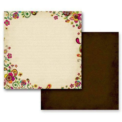 PrimaMarketing12x12 Paper - PaisleyRoad Collection - Assam