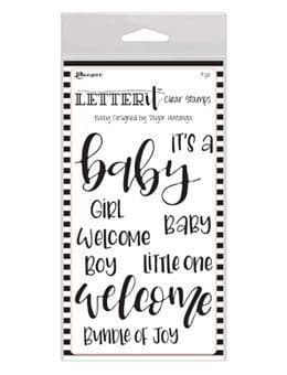 Ranger Letter It! Clear Stamp Set - Baby - LEC59288