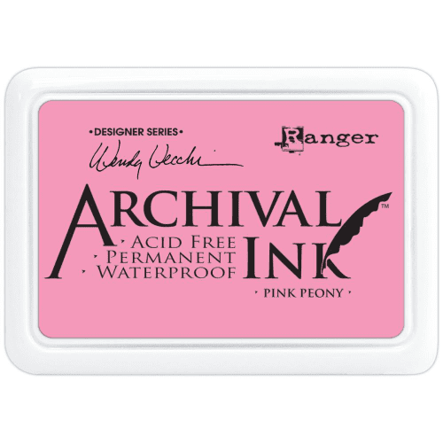 Ranger Wendy Vecchi Archival Ink Pad - Pink Peony
