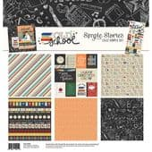 Simple Stories 12x12 Simple Set - Old School  -