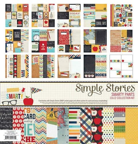 Simple Stories Collection Kit - Smarty Pants
