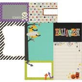 Simple Stories - Frankie and Friends - Journaling Elements 12x12 Paper - 5514