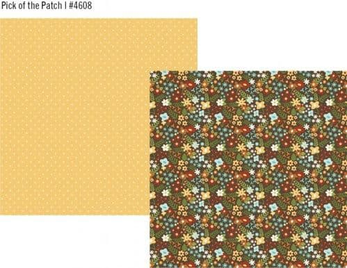 Simple Stories - Pumpkin Spice - Pick of the Patch 12x12 Paper