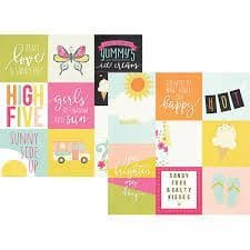 Simple Stories - Sunshine & Happiness - Elements 12x12 Paper - 7212