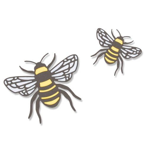 Sizzix - Thinlits Die Set 4pk - Bee
