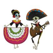 Sizzix Tim Holtz-Thinlits Die Set 21pk - Day of the Dead, Colorize