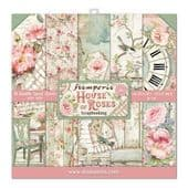 Stamperia 12x12 paper pad - House of Roses - SBBL66
