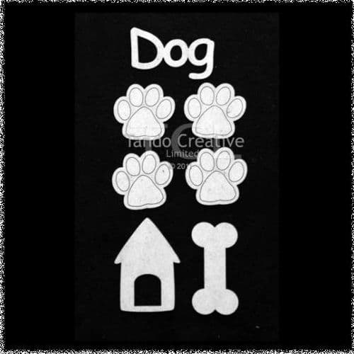 Tando Greyboard - Dog Set Small