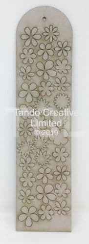 Tando Greyboard - Minis Tags - Flowers