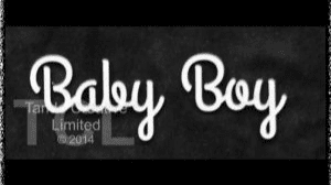 Tando Greyboard Word - Baby Boy