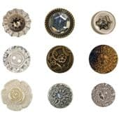 TIM HOLTZ® IDEA-OLOGY™ - Accoutrements – Fanciful Buttons - TH92873