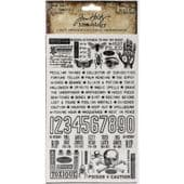 Tim Holtz® Idea-Ology™ - Remnant Rubs, Halloween - TH93972