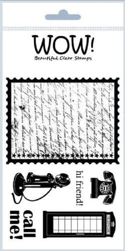 WOW! - Clear Stamp Set - Call Me - STAMPSET3