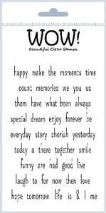 WOW! - Clear Stamp Set – Express Yourself – STAMPSET25