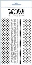 WOW! - Clear Stamp Set – Funky Border Strips – STAMPSET18