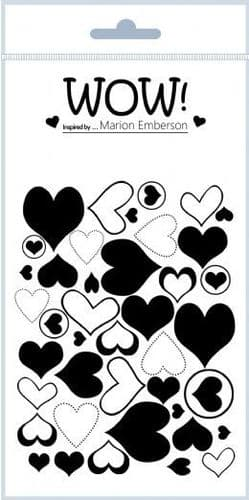 WOW! - Clear Stamp Set - J'adore (by Marion Emberson) - STAMPSET46