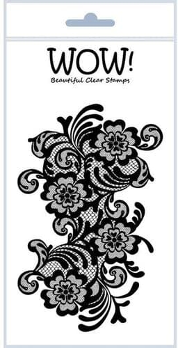 WOW! - Clear Stamp Set – Lace by Sarah Rhodes - STAMPSET29