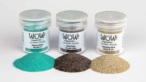 WOW!  Embossing Powder Trio - Dockside Jo Firth-Young Exclusive