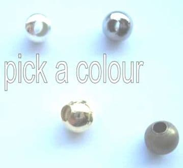 3mm spacer beads x 130. Pick a colour.