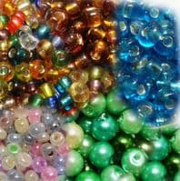 Seed beads and Rocailles