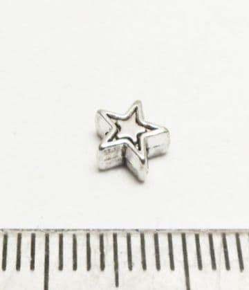Star spacer beads x 20. 7mm