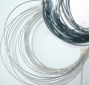 Tigertail. 10m of Black or 3m of Silver. Cord.