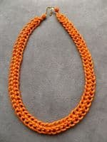 KNOTTED COLLAR NECKLACE