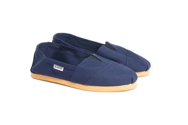 Alpargata Shoes in Navy