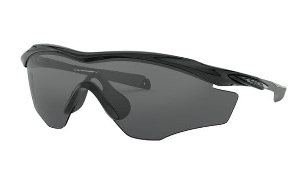 M2™ Frame XL - Polished Black Frame - Grey Lens