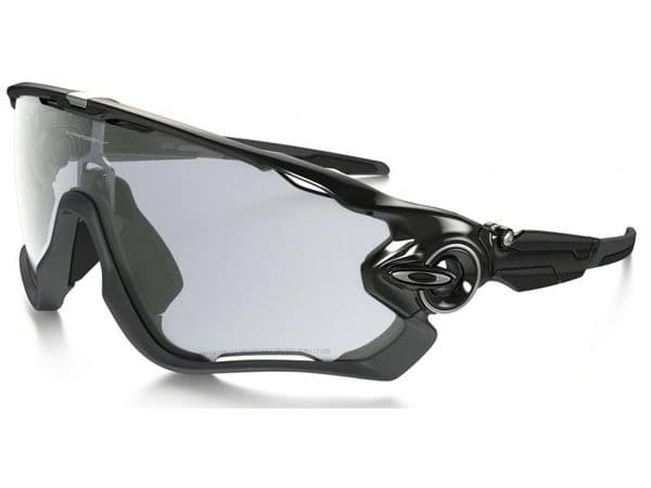 Oakley Jawbreaker Clear to Black Iridium Photochromic Lens