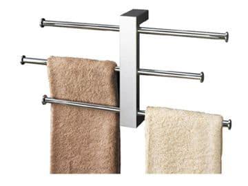 Gedy Bridge Towel Holder Wall Mounted Chrome 7630-13