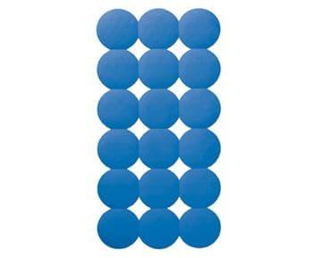 Gedy Giotto Bath Mat Blue 983979-11
