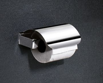 Gedy Kent Toilet Roll Holder With Flap Chrome 5525-13