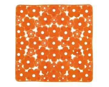 Gedy Margherita Shower Mat Zesty Orange 975151-P4