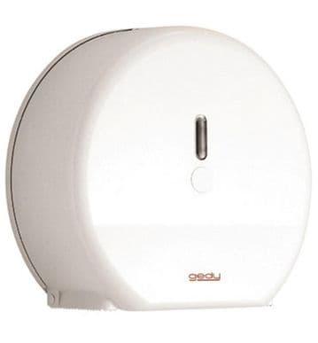 Gedy Maxi Jumbo Rollpaper Dispenser White 2429-02