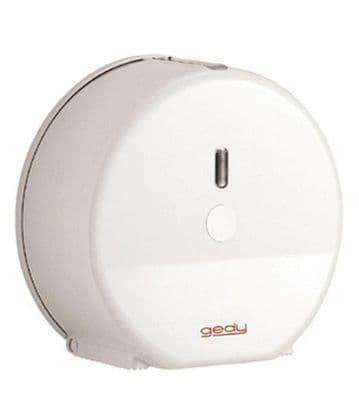 Gedy Mini Jumbo Rollpaper Dispenser White 2428-02