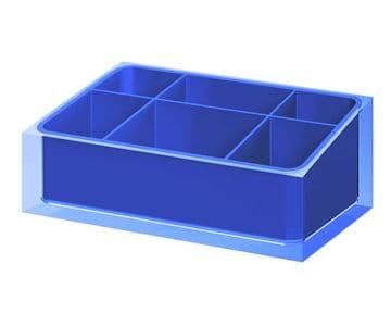 Gedy Rainbow Organiser Blue RA00-05