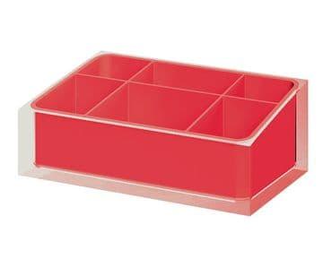 Gedy Rainbow Organiser Red RA00-06