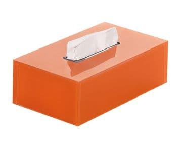 Gedy Rainbow Rectangular Tissue Box Orange RA08-67