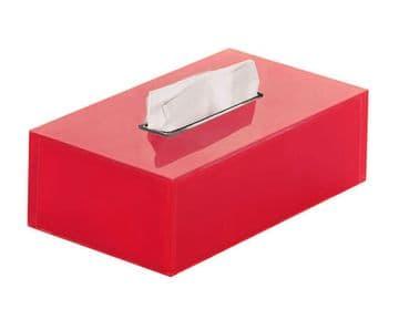 Gedy Rainbow Rectangular Tissue Box Red RA08-06