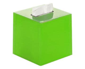 Gedy Rainbow Square Tissue Box Green RA02-04