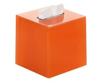 Gedy Rainbow Square Tissue Box Orange RA02-67
