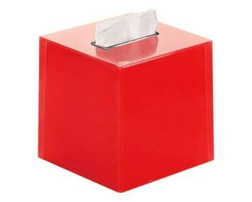 Gedy Rainbow Square Tissue Box Red RA02-06